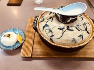 ぼっちりの鍋焼きラーメン