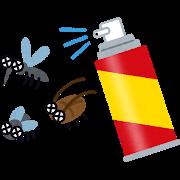 殺虫スプレー