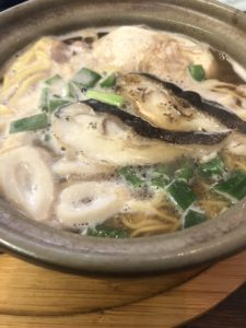 すさき駅前食堂の鍋焼きラーメン5
