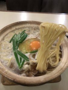 千秋の鍋焼きラーメン5