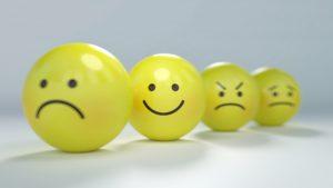 色々な表情のボール